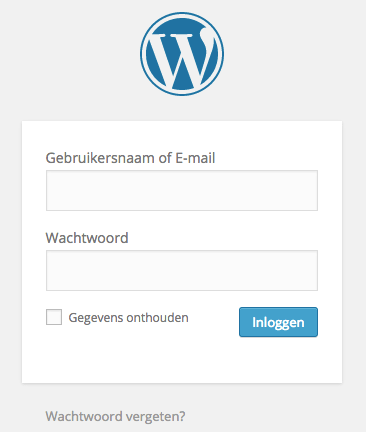 Gebruikersnaam of E-mail