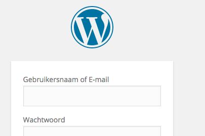 Inloggen met e-mailadres in WordPress