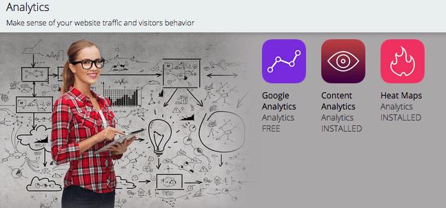 Analytics tools van SumoMe
