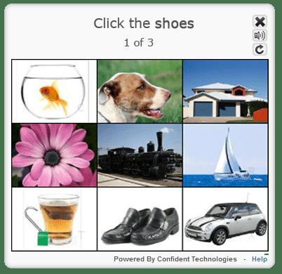 Confident CAPTCHA