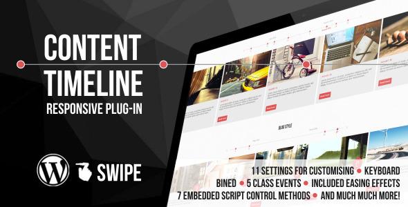 Content Timeline WordPress Plugin