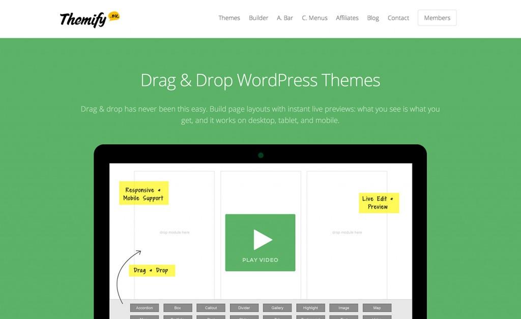Themify WordPress aanbieding