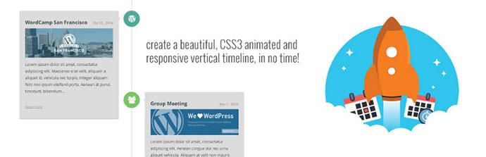 Timeline Express WordPress Plugin Tijdlijn