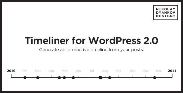 Timeliner WordPress tijdlijn plugin