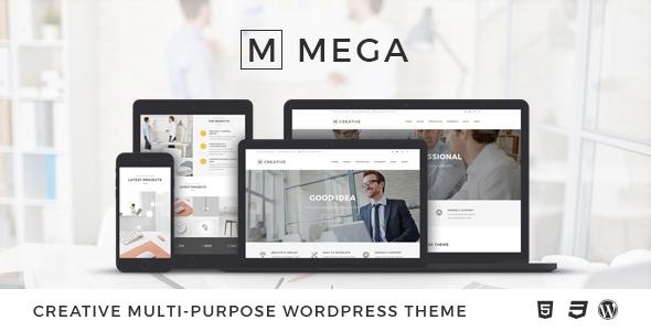 MEGA: goed WordPress theme uitgekomen in 2016