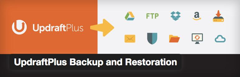 Updraftplus WordPress backup