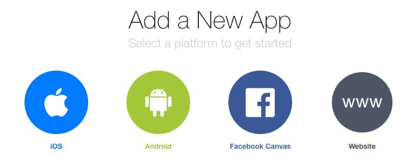 Nieuwe FB app WordPress