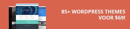 Meer dan 85 themes voor 69 dollar!