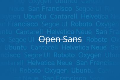 Open Sans lettertype WordPress dashboard veranderen - Update 4.6