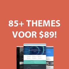 Meer dan 85 themes voor 89 dollar!