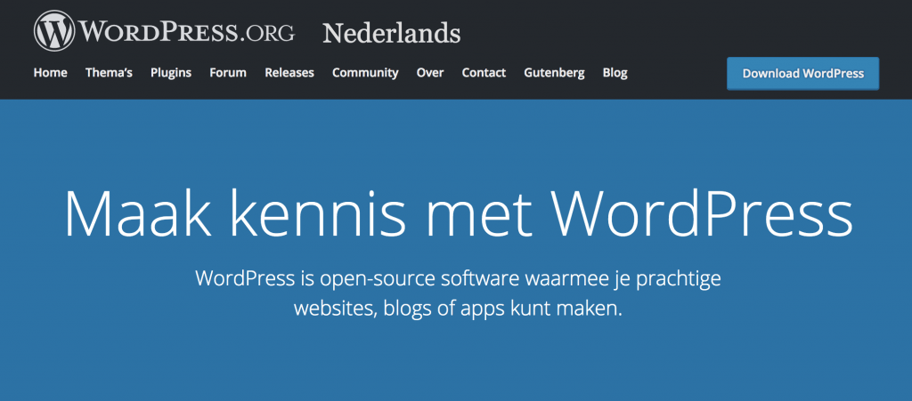WordPress Core bestanden