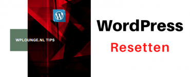 WordPress resetten