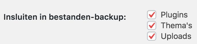 Bestanden-backup