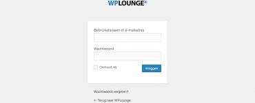 Logo aanpassen op de WordPress login-pagina