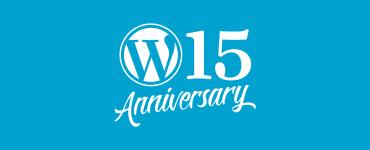 WordPress bestaat 15 jaar