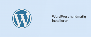 WordPress handmatig installeren