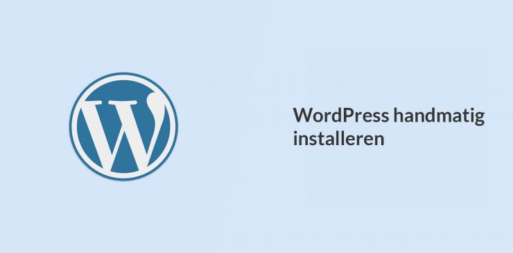 WordPress handmatig installeren