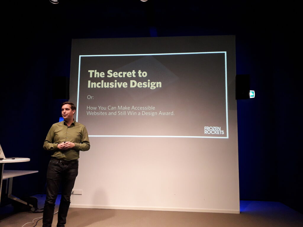 Peter van Grieken presentatie KIT website en Inclusive Design