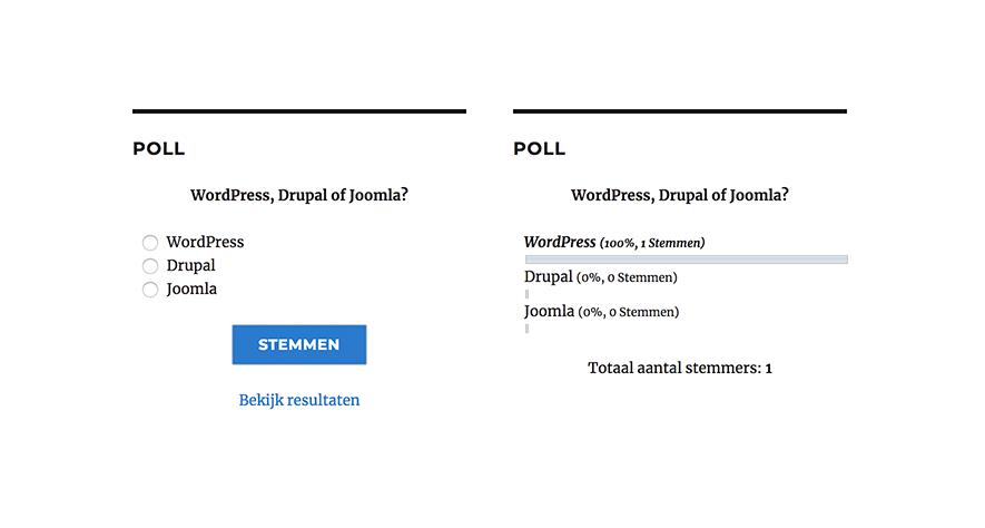 WP-Polls Plugin
