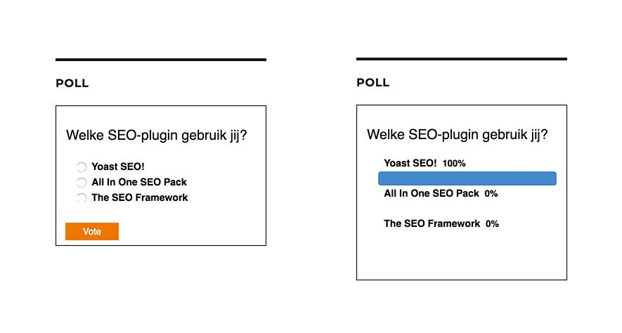 YOP Poll WordPress plugin