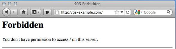 403 server error door wijzigingen in Elementor.