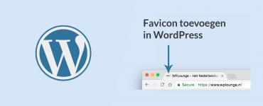 Favicon toevoegen aan je WordPress-website