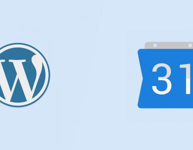 Google agenda toevoegen aan WordPress