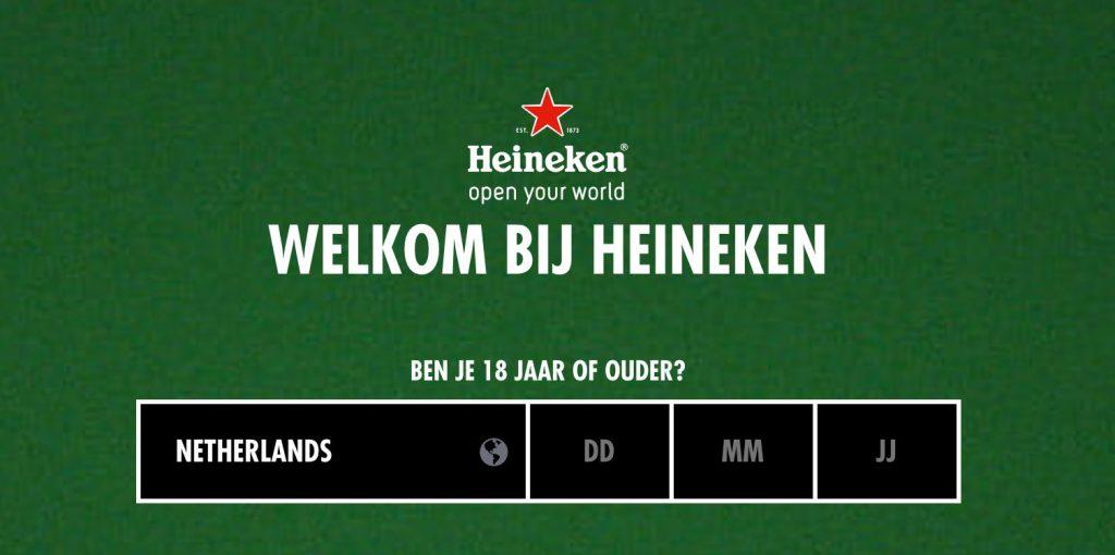 Heineken Age Checker
