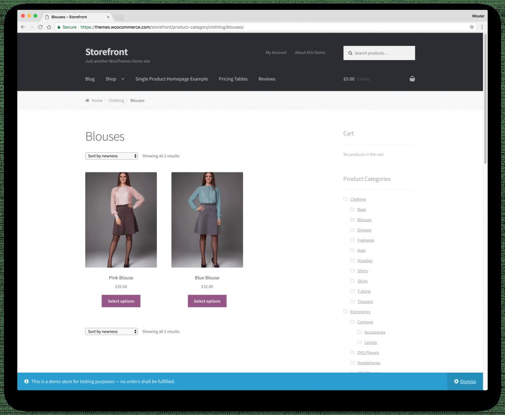Storefront Framework