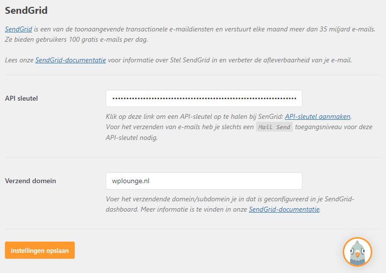 WP Mail SMTP configuratie