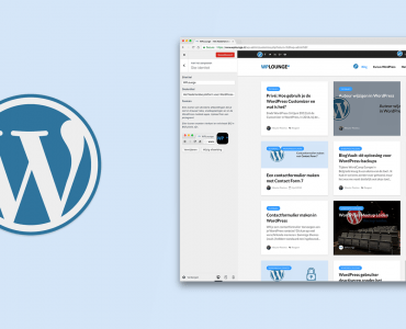 Wat is de WordPress Customizer en wat kun je ermee?
