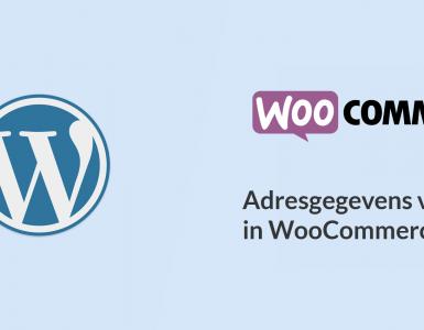 WooCommerce postcode checken valideren