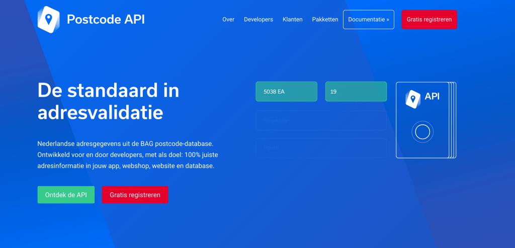 PostcodeAPI.nu