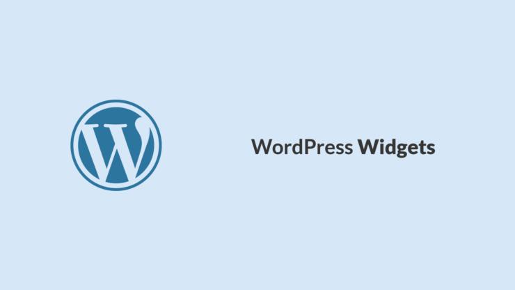Wat zijn WordPress widgets