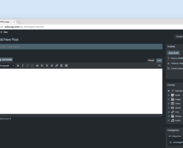 WordPress Dark Mode