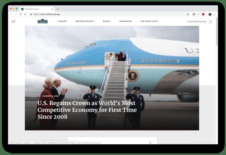 Witte Huis WordPress