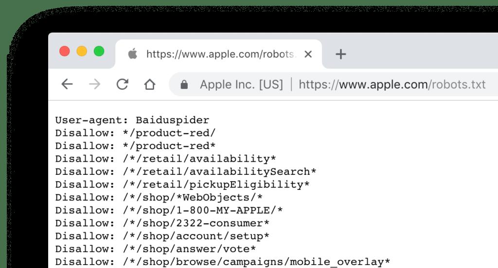 robots Apple