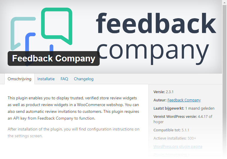 Feedback Company downloaden