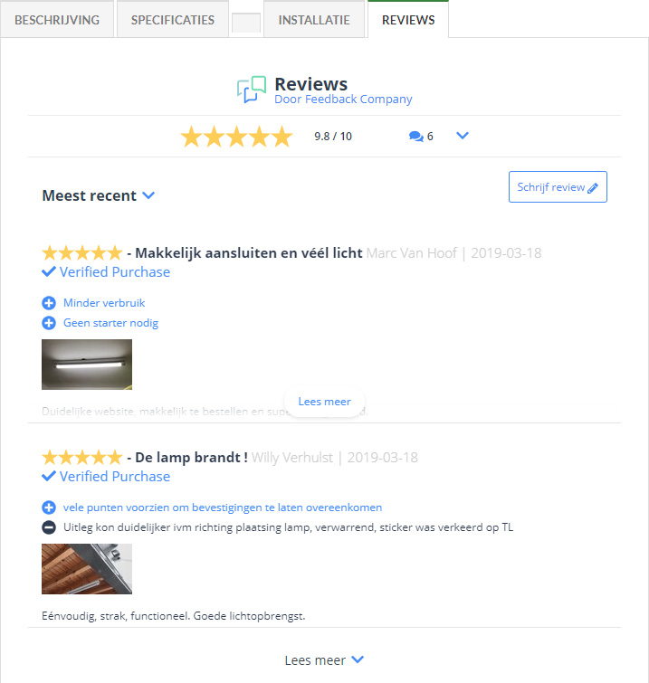 Feedback Company reviews