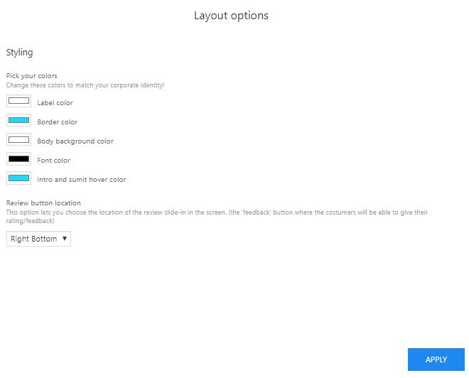 Layout instellingen Vit plugin WP