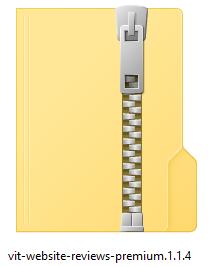 Zip file klaar voor WordPress installatie