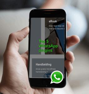 Top 5 WhatsApp WordPress plugins 2019