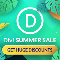 Summer Sale DIvi