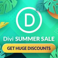 Summer Sale DIvi