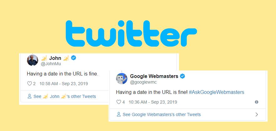 John Mueller op Twitter
