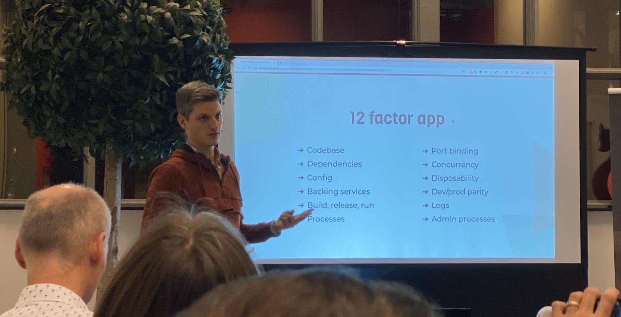 Presentatie 12 factor app