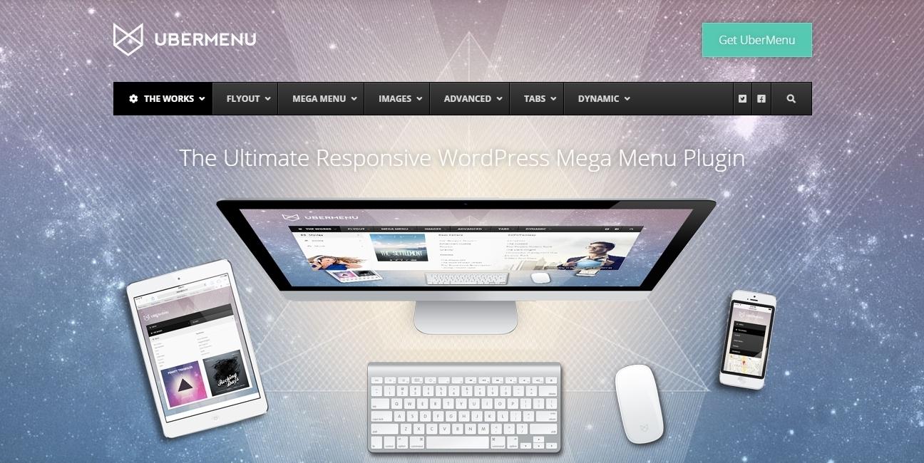 UberMenu WordPress menu plugin