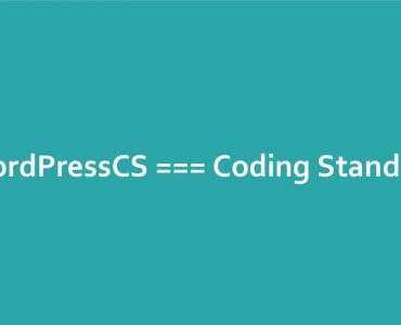 WordPressCS Coding Standards