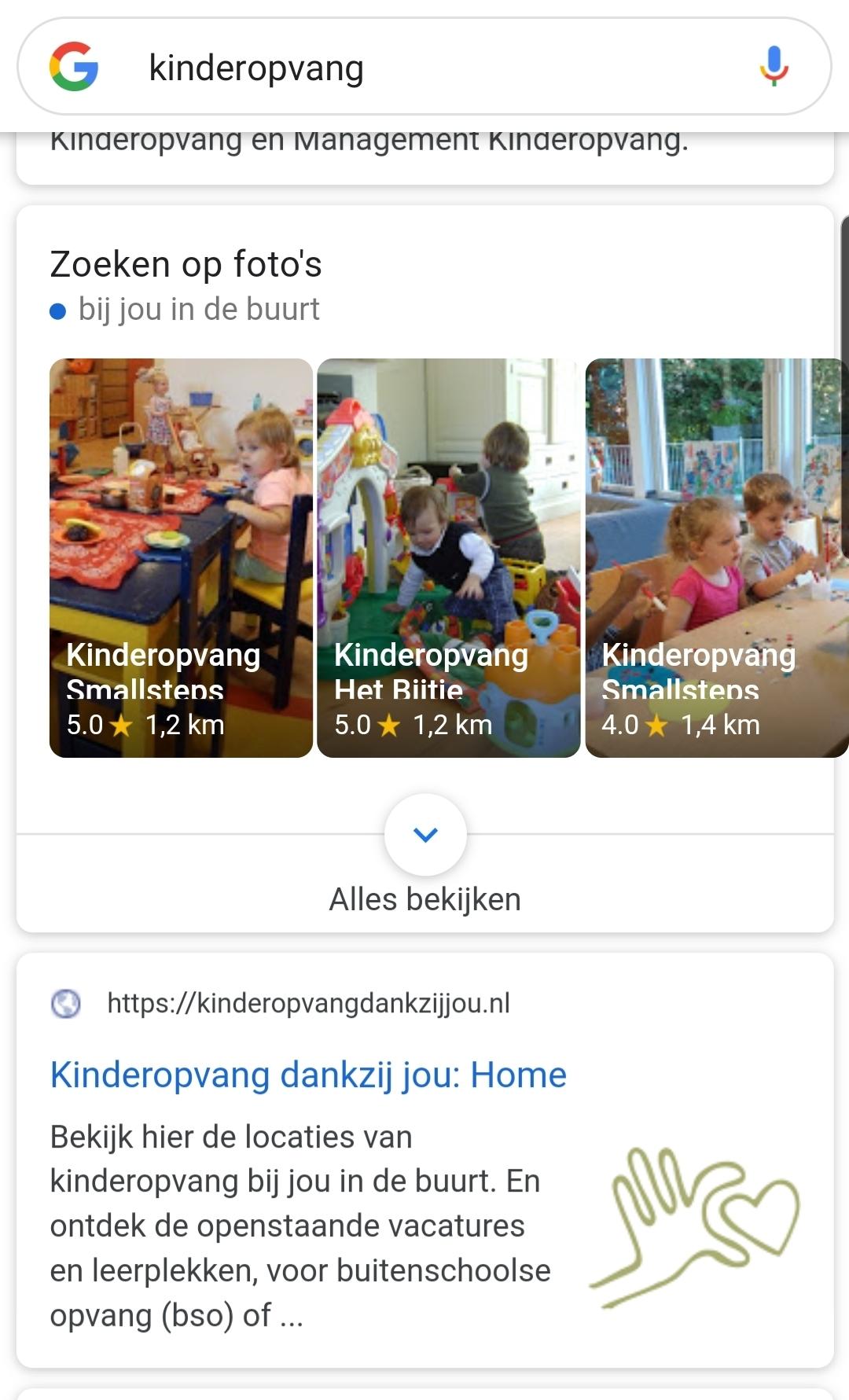 Kinderopvang zoekresultaten met afbeeldingen