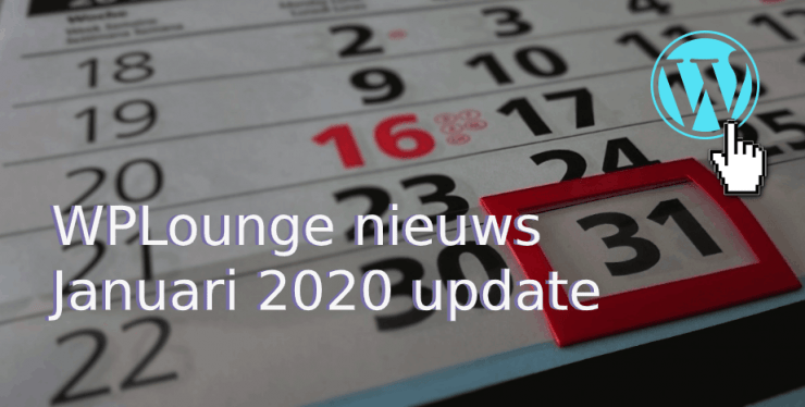 WordPress januari 2020 nieuws (1)